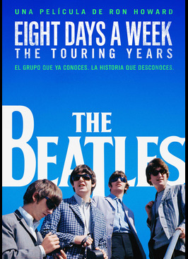 The Beatles: Eight Days a Week: estreno en TV en España en Movistar Estrenos. Recomendación CEC Música y CEC TV.