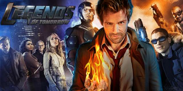 Constantine SE QUEDA en Legends of tomorrow. El actor Matt Ryan, ascendido.