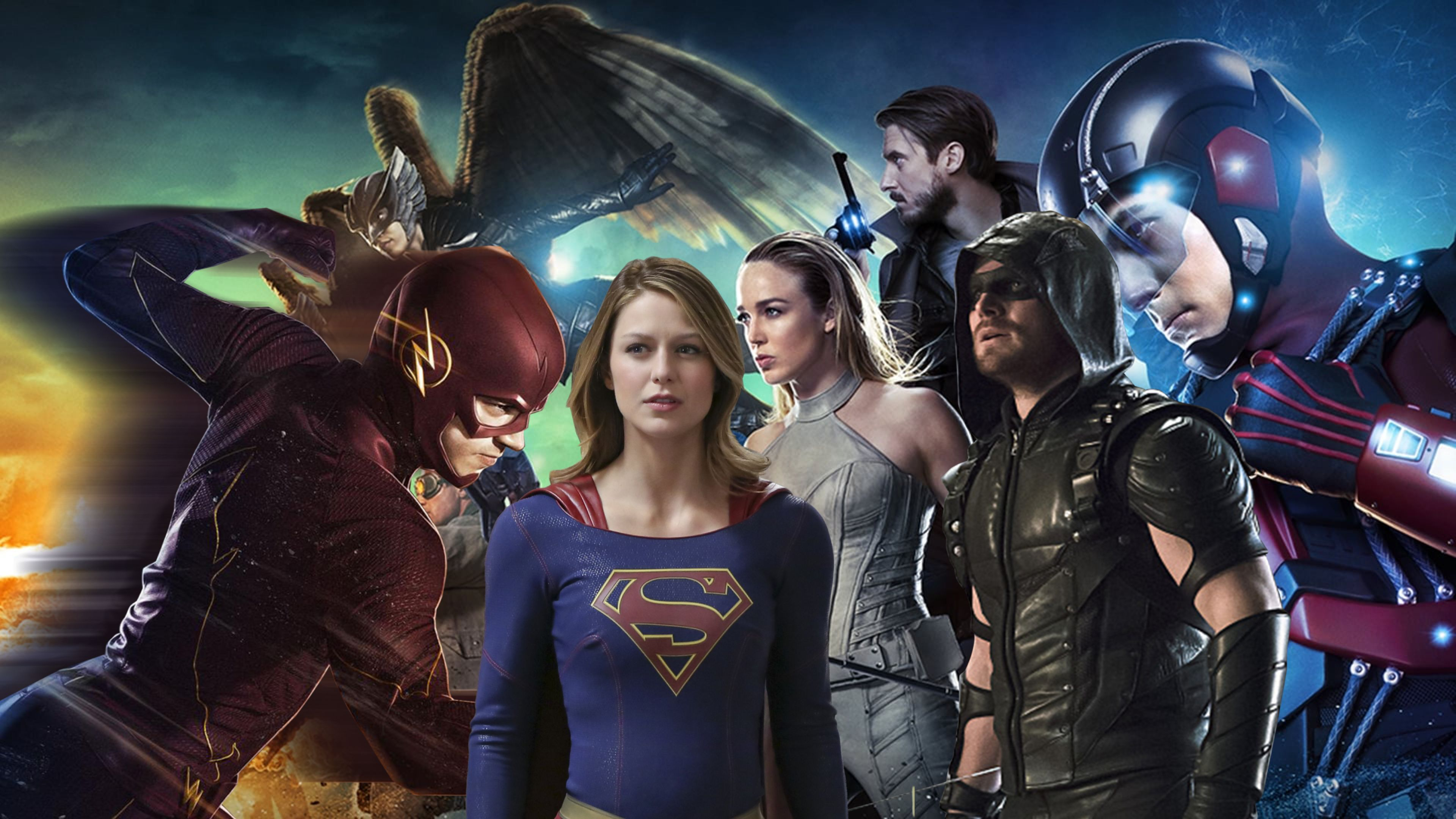 Novedades MUY IMPORTANTES del MEGA-CROSSOVER Arrow, Flash, Supergirl, DC Legends.