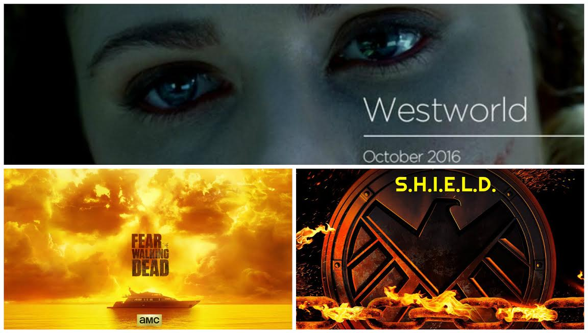 Novedades de Arrow, Fear the walking dead, Westworld, Black mirror, Agentes de SHIELD, Supergirl, AHS, Legends of tomorrow, Z Nation, Luke Cage de Marvel, Chicago MED y Startup.